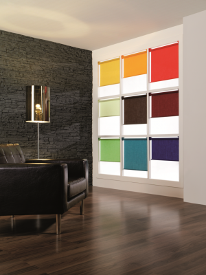 Silent Gliss 4905 Roller Blind Colour 410