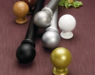 Silent Gliss Overture 50 Ball Finial